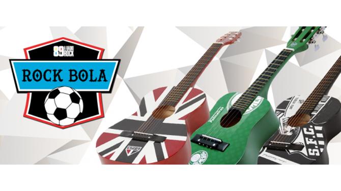 Promo Violões Rock Bola 89FM