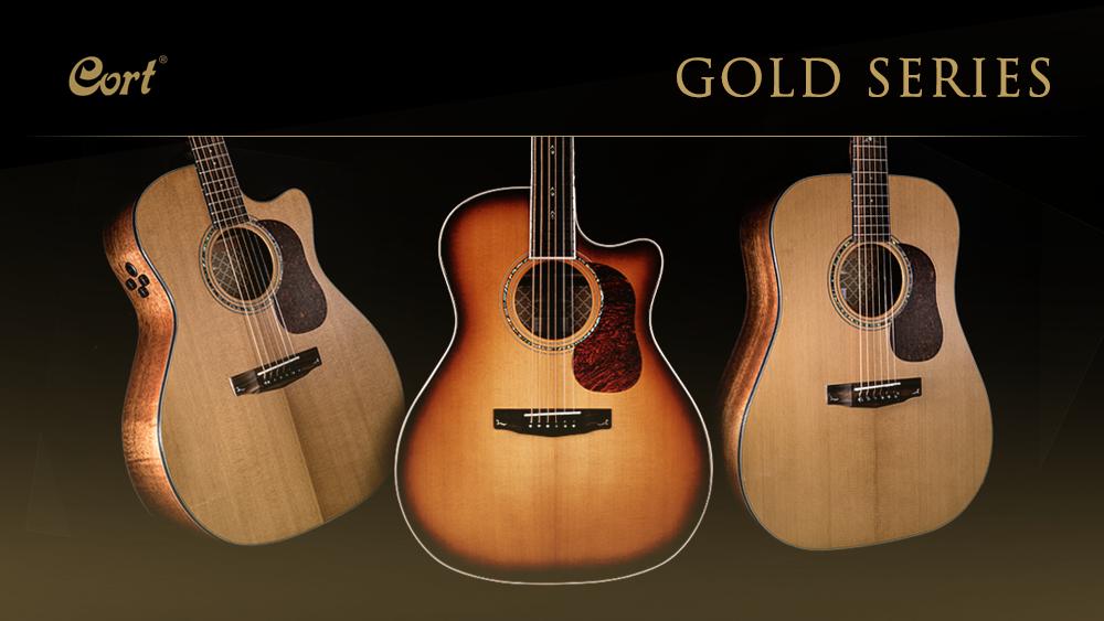 Cort apresenta linha de violões GOLD